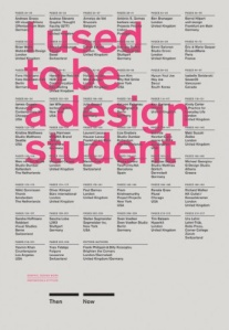 """I Used to Be a Design Student"" book cover"